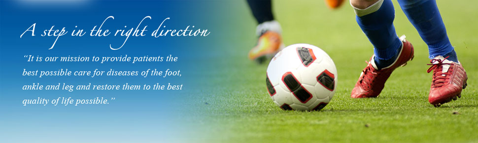 Soccer Player Patient, Best Podiatrist In NJ Photo - Ocean County Foot & Ankle Surgical Associates, P.C.