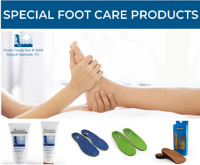 special foot care products